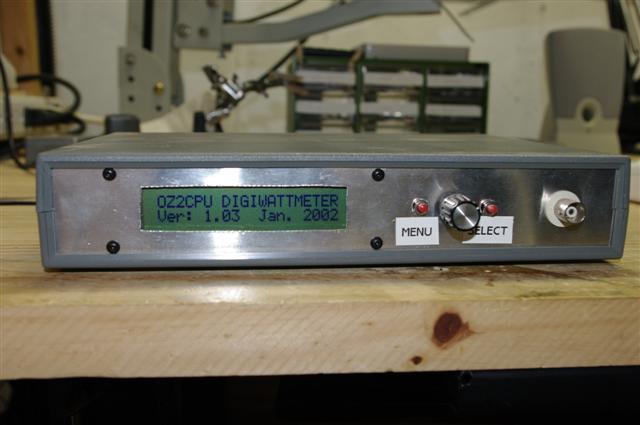 OZ2CPU digital wattmeter